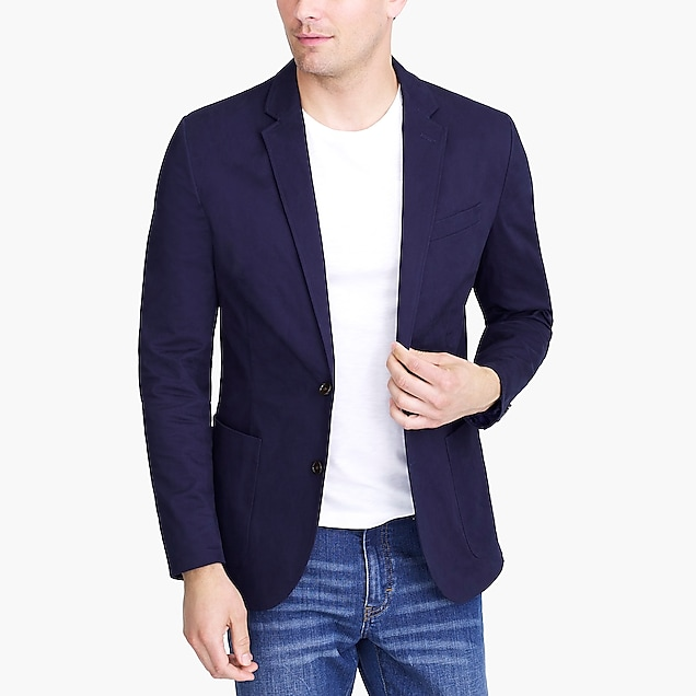 j.crew factory: thompson blazer in flex chino