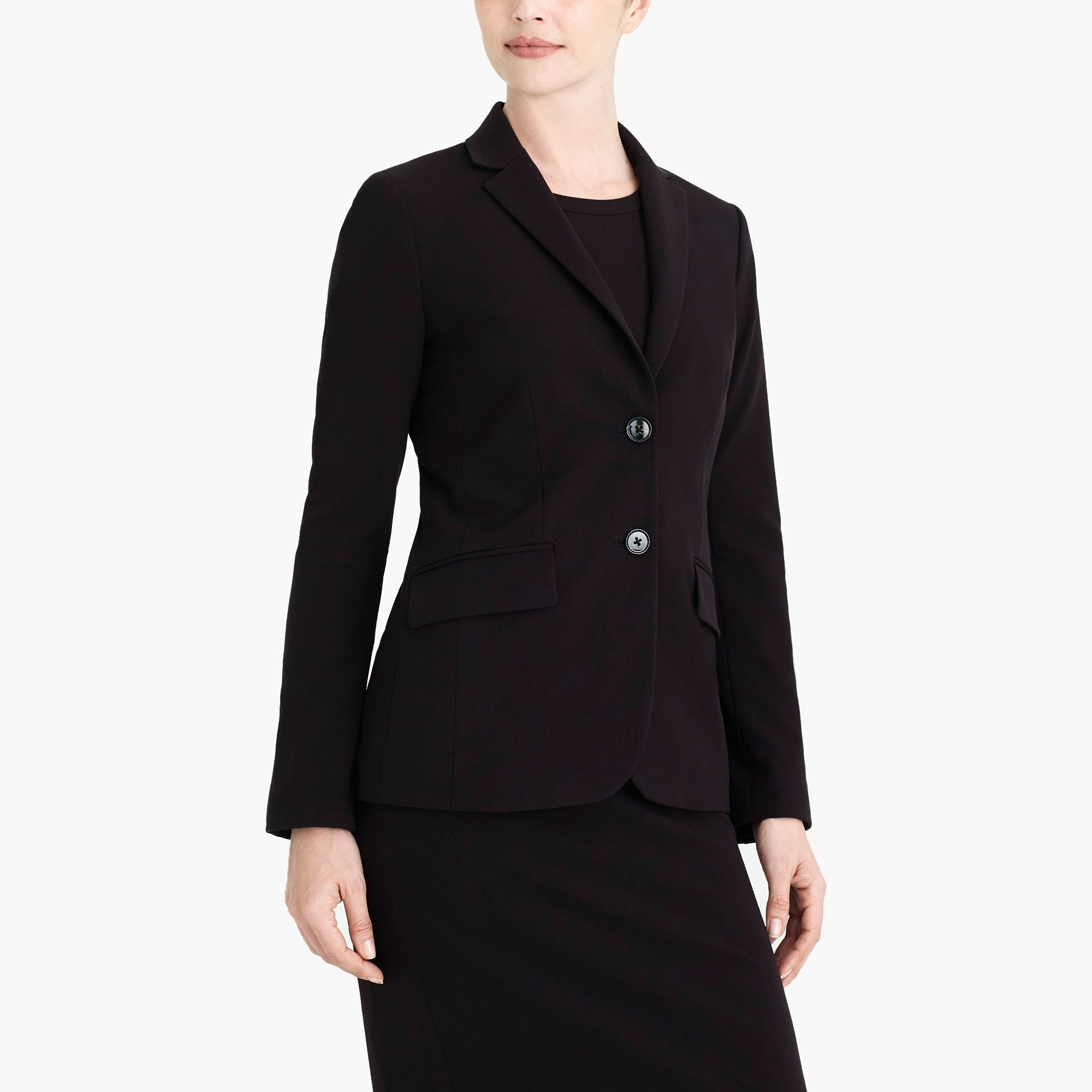 petite classic work blazer : factorywomen suiting