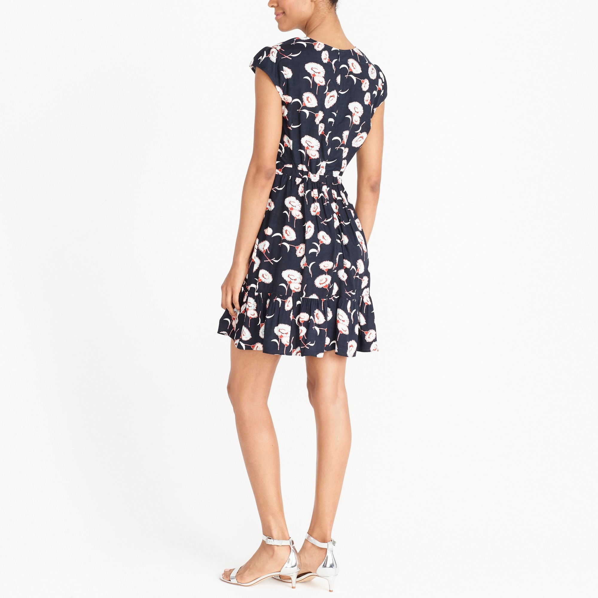 Image 2 for J.Crew Mercantile faux-wrap mini dress