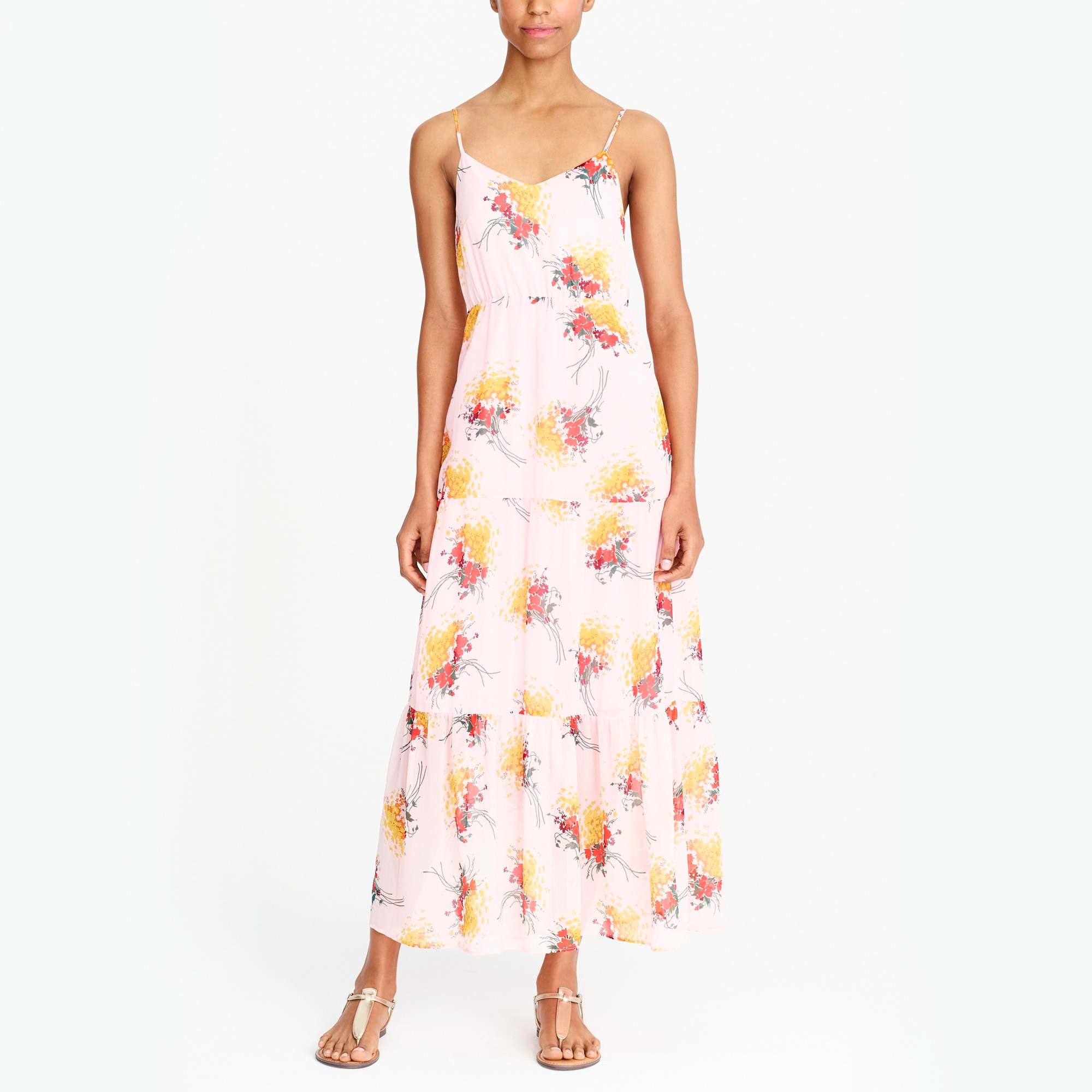 J.Crew Mercantile tiered maxi dress