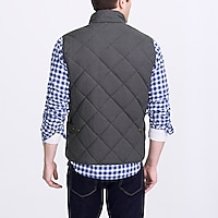 Image 3 for Waxed quilted Walker vest