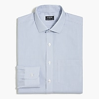 Thompson slim-fit flex wrinkle-free dress shirt