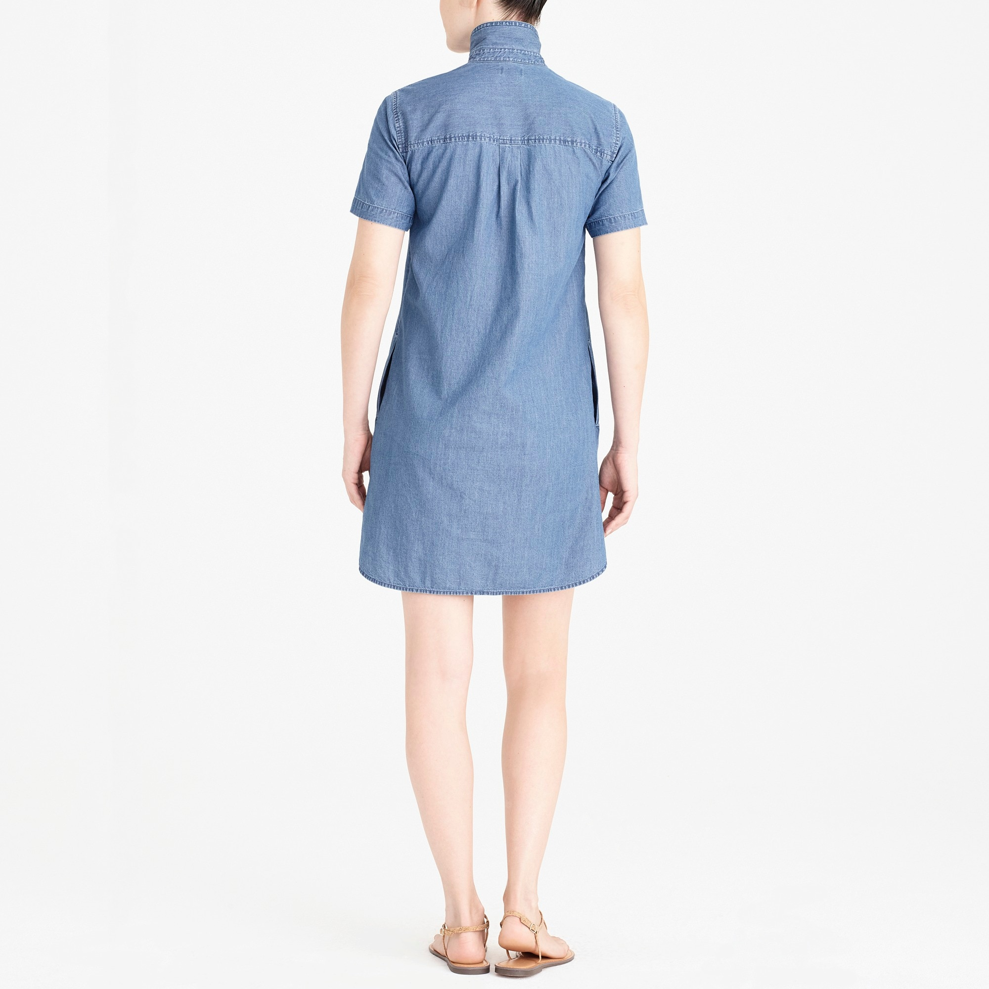 Image 3 for Chambray shirtdress