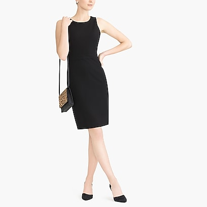 factory womens Petite sheath work dress