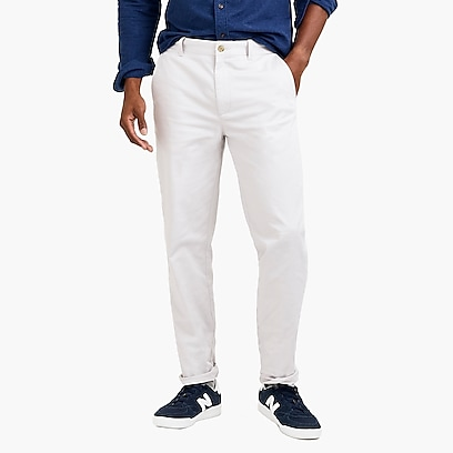 factory mens Athletic-fit flex chino