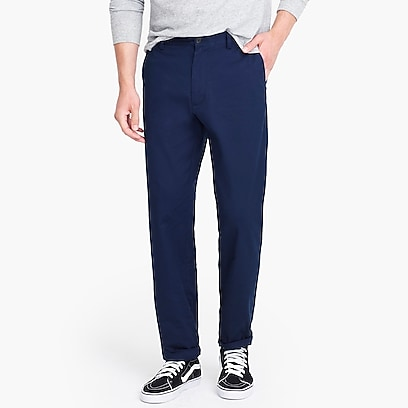 factory mens Relaxed-fit flex chino