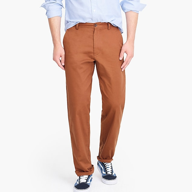 j.crew factory: relaxed-fit flex chino