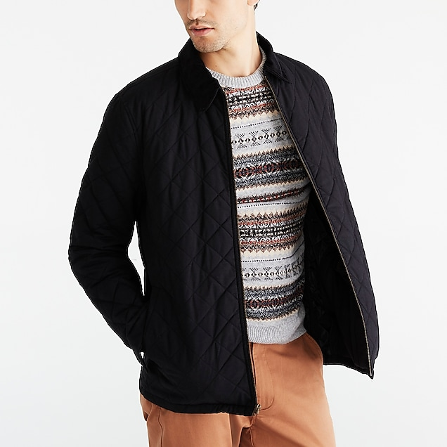 j.crew factory: quilted jacket