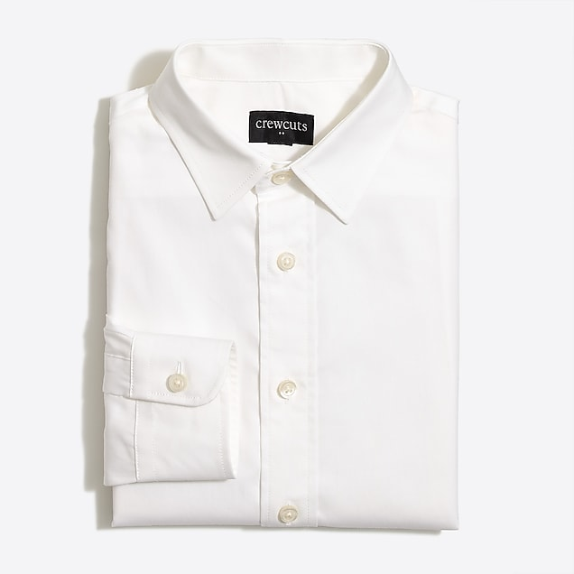 j.crew factory: boys' long-sleeve flex thompson shirt