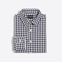 Boys' long-sleeve flex Thompson patterned shirt