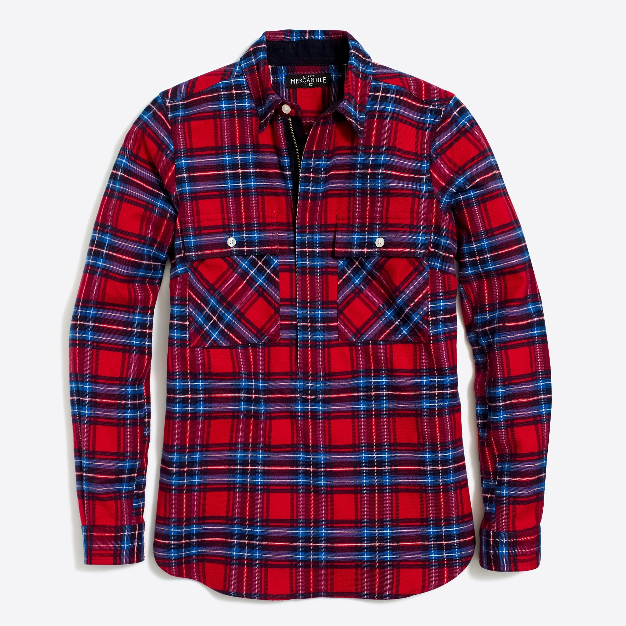 Image 2 for Plaid shirt jacket