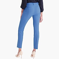 Slim crop Ruby pant in stretch twill