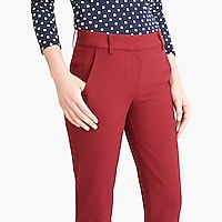 Image 3 for Slim crop Ruby pant in stretch twill