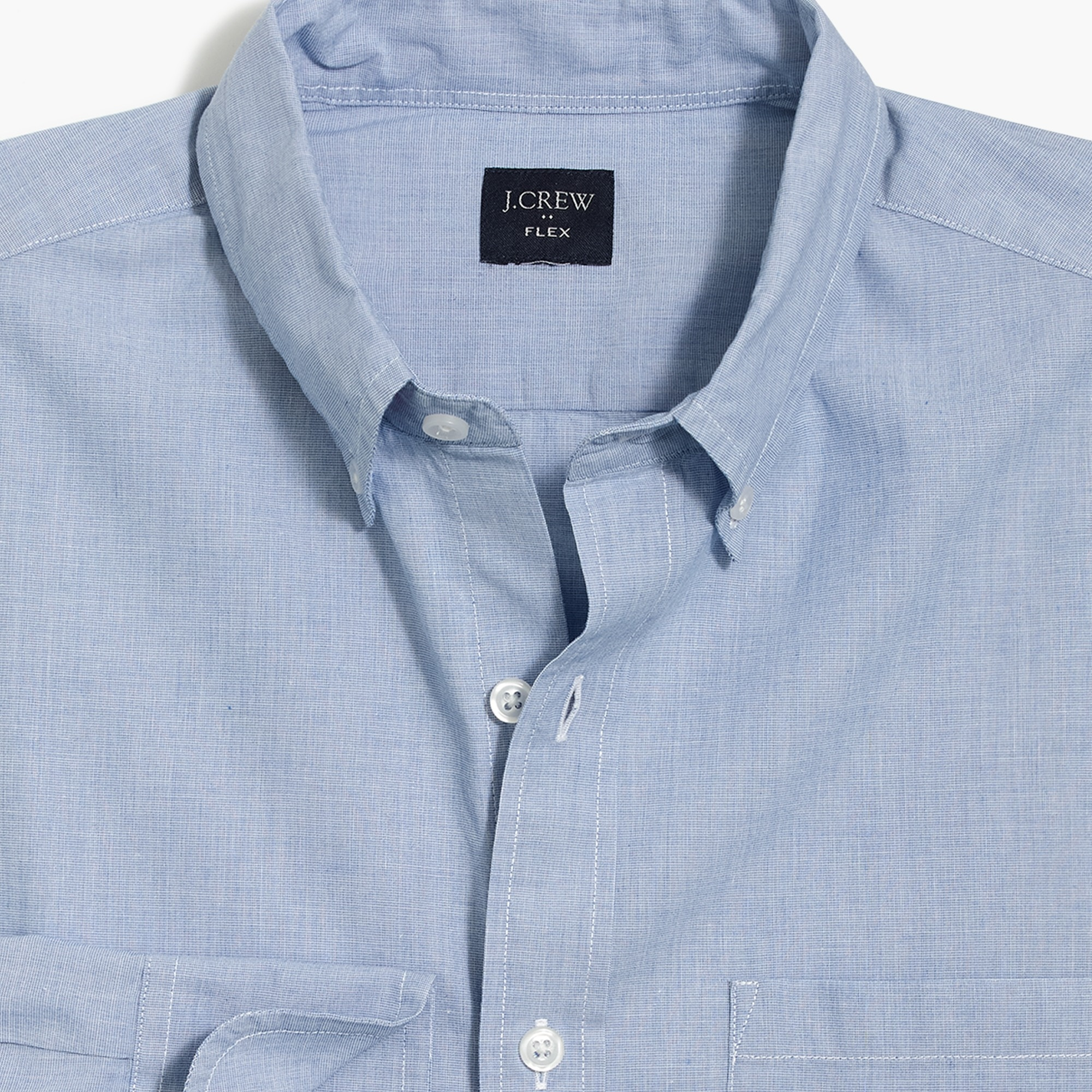 flex washed shirt : factorymen flex authentic washed