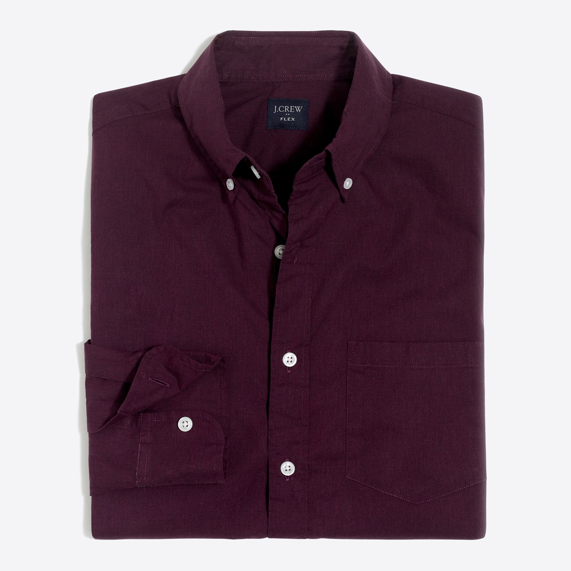 factory mens Flex heather washed shirt