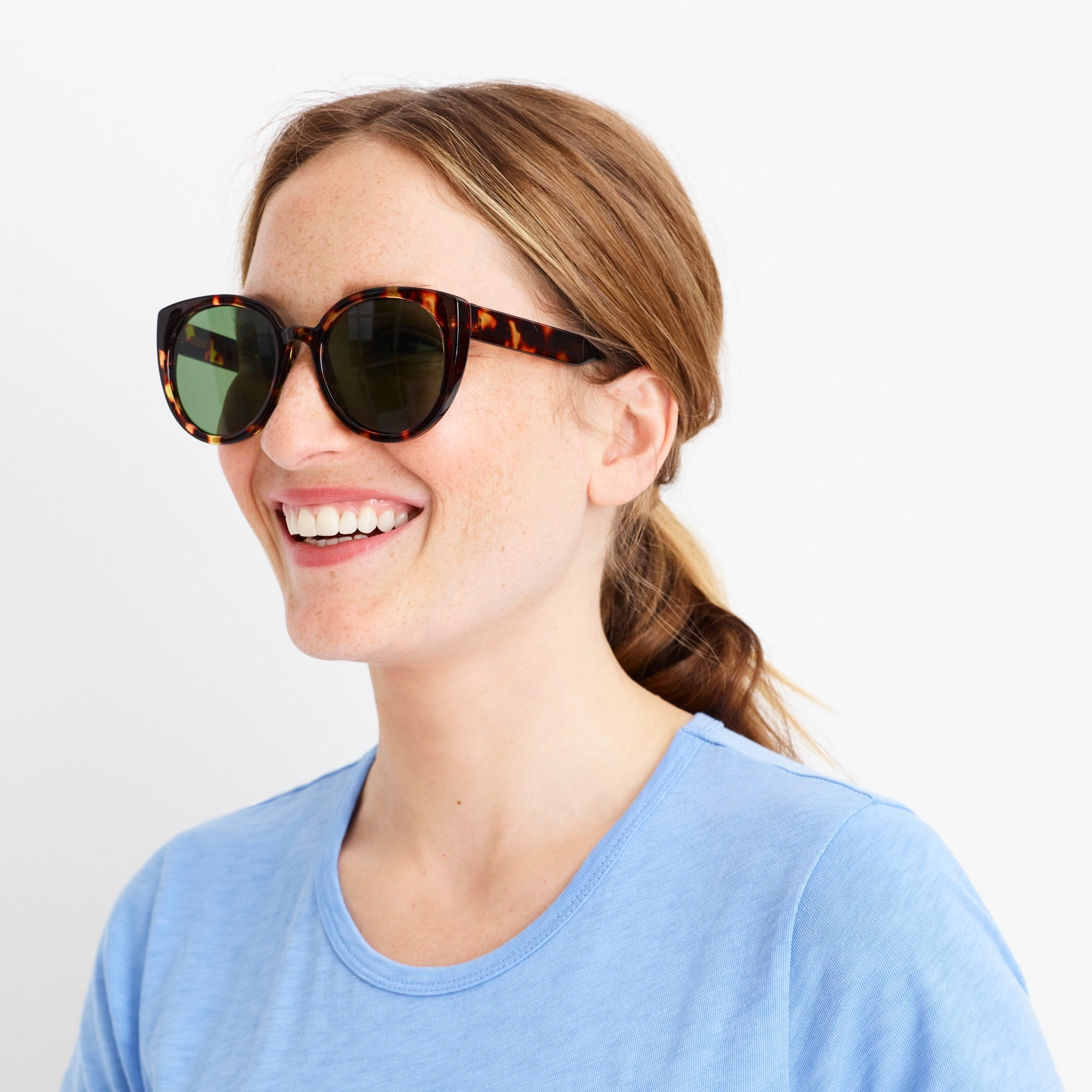 factory womens Oversized sunglasses