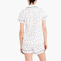Image 4 for Printed short-sleeve pajama set