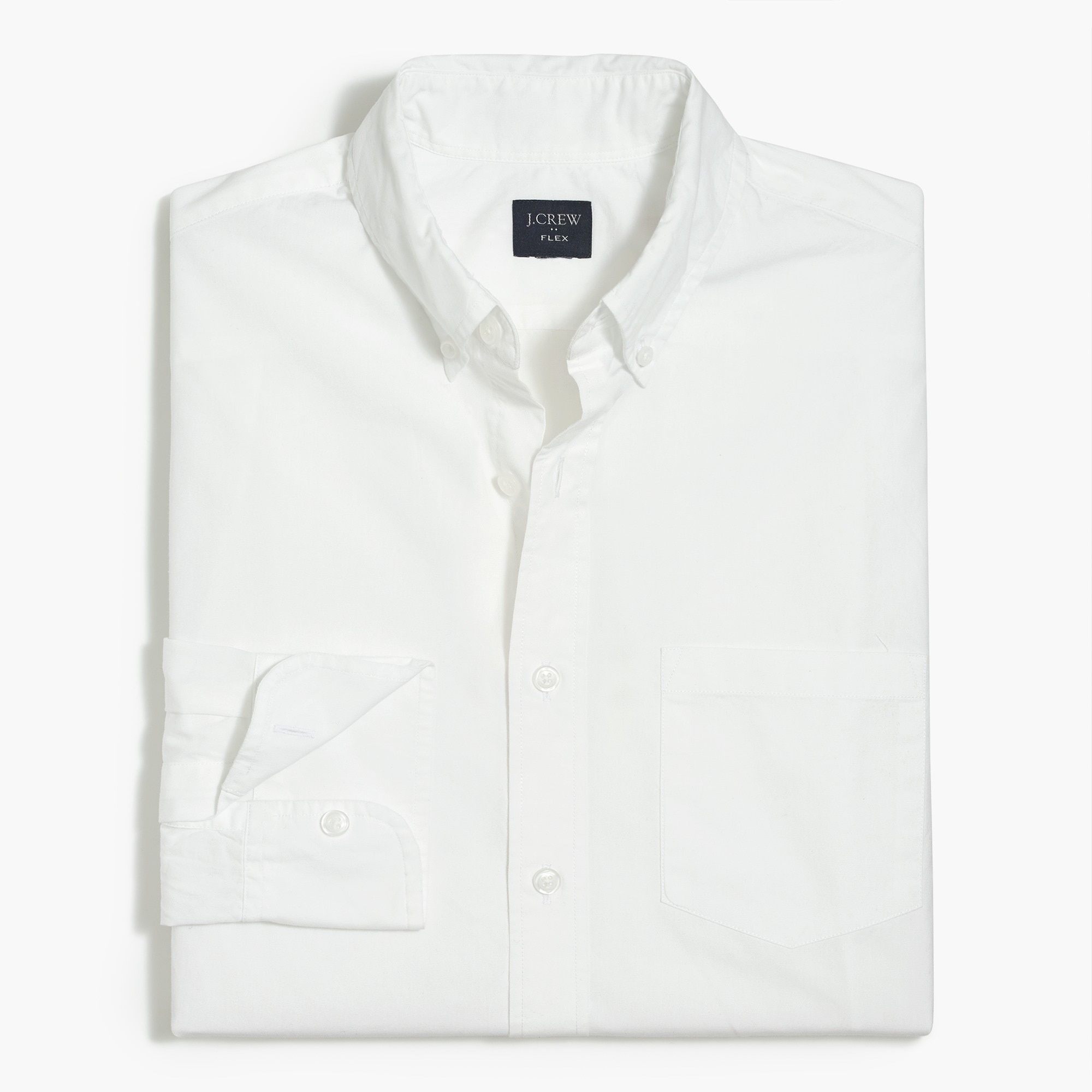 factory mens Slim-fit flex washed shirt