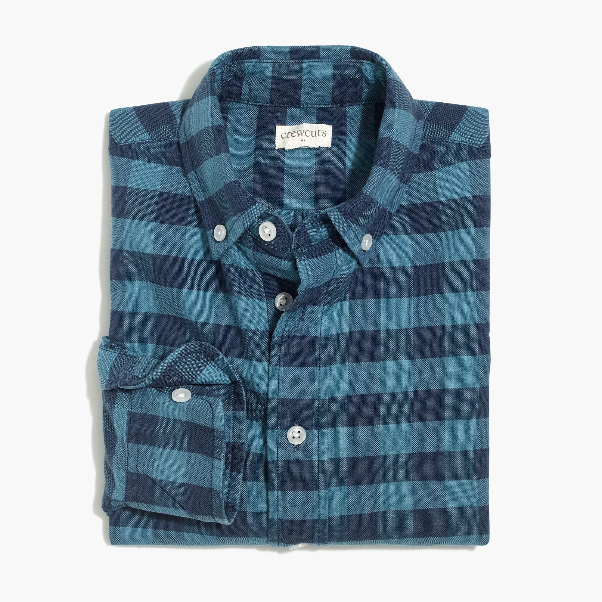 Image 1 for Boys' long-sleeve flex oxford shirt