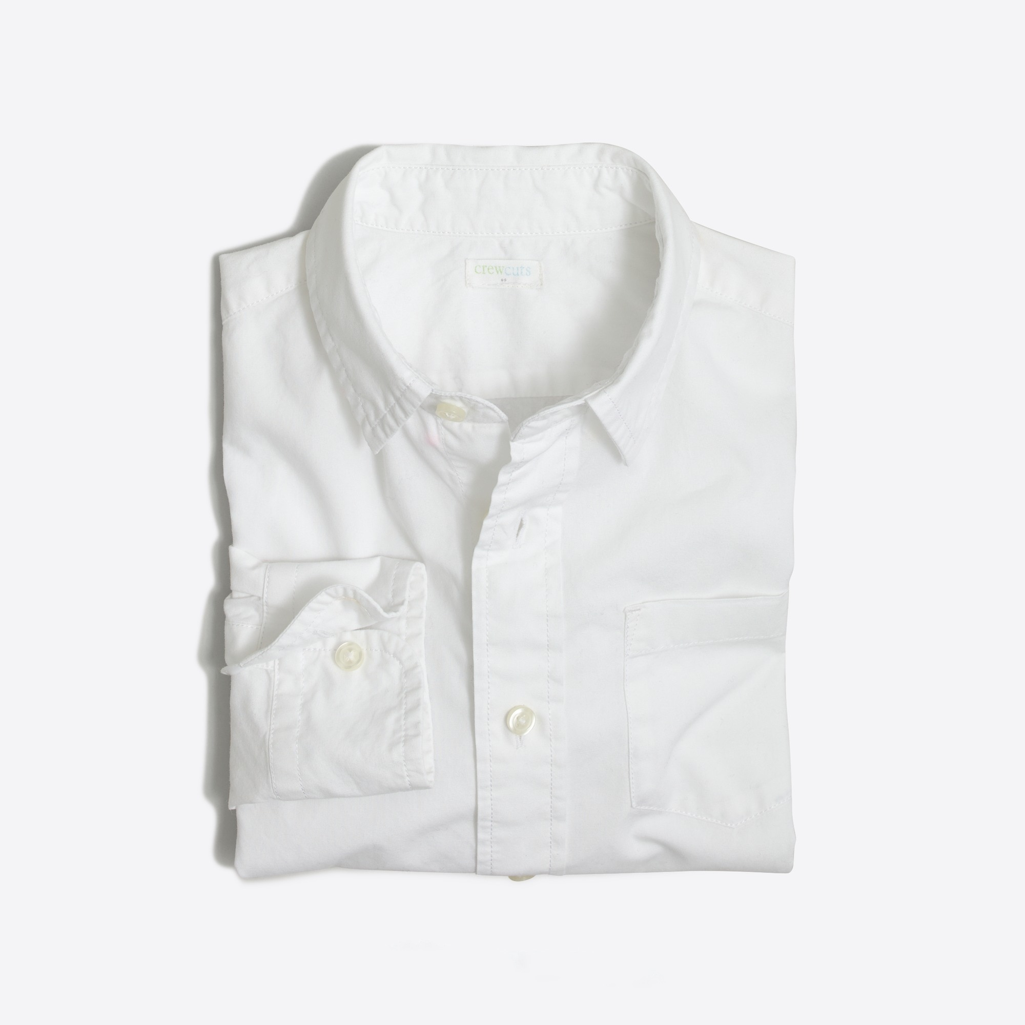 Boys' long-sleeve flex washed shirt