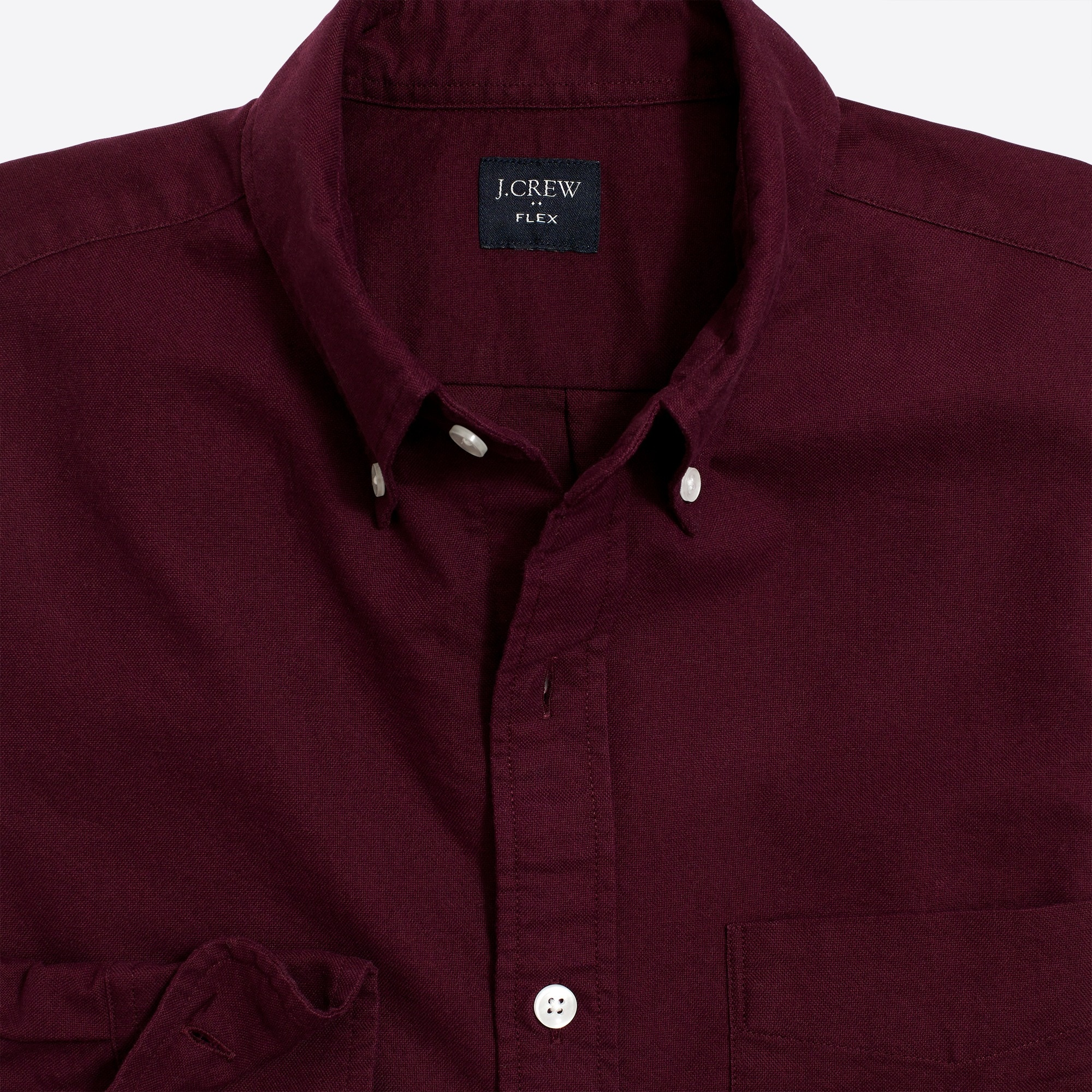 slim flex oxford shirt : factorymen flex oxford