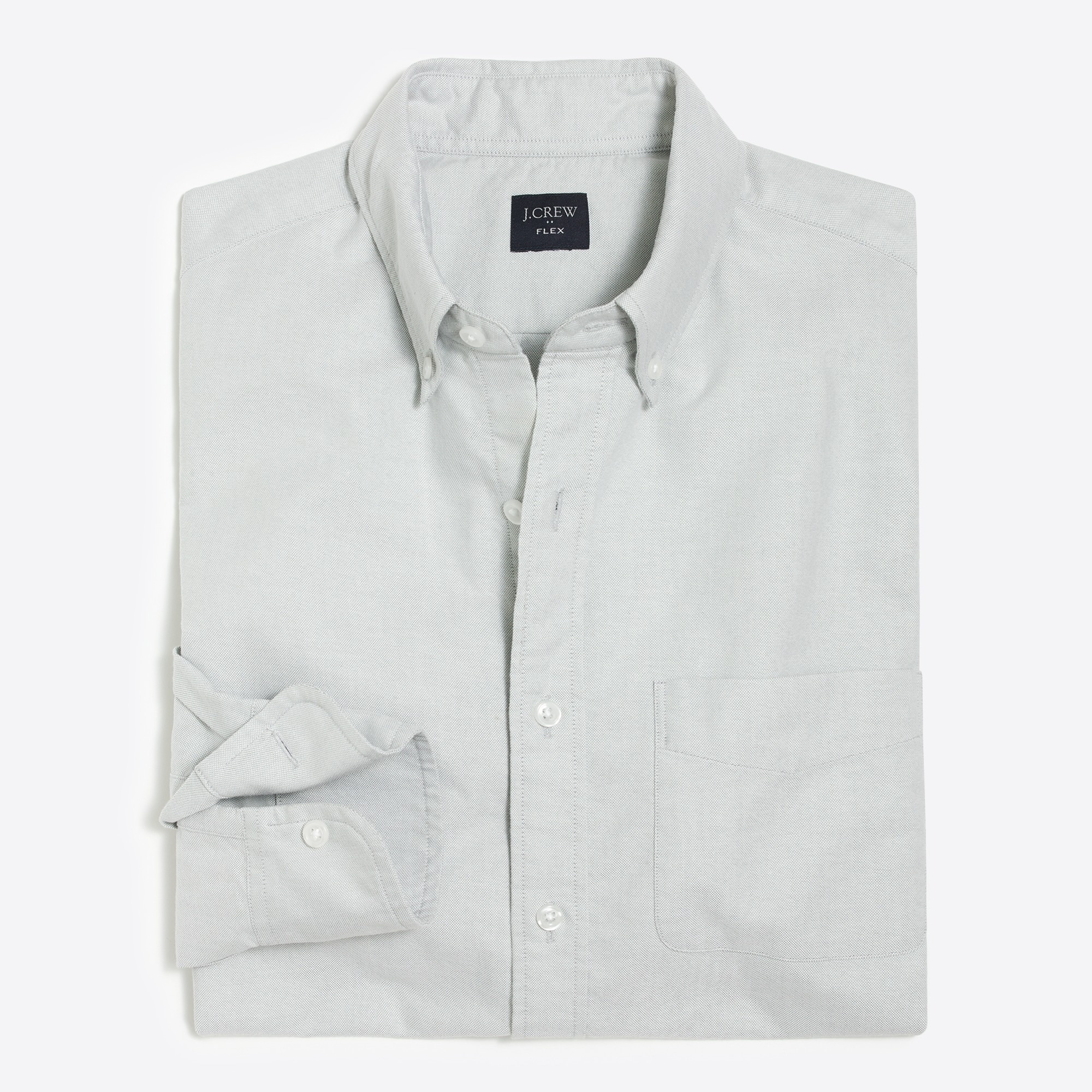 factory mens Tall flex oxford shirt