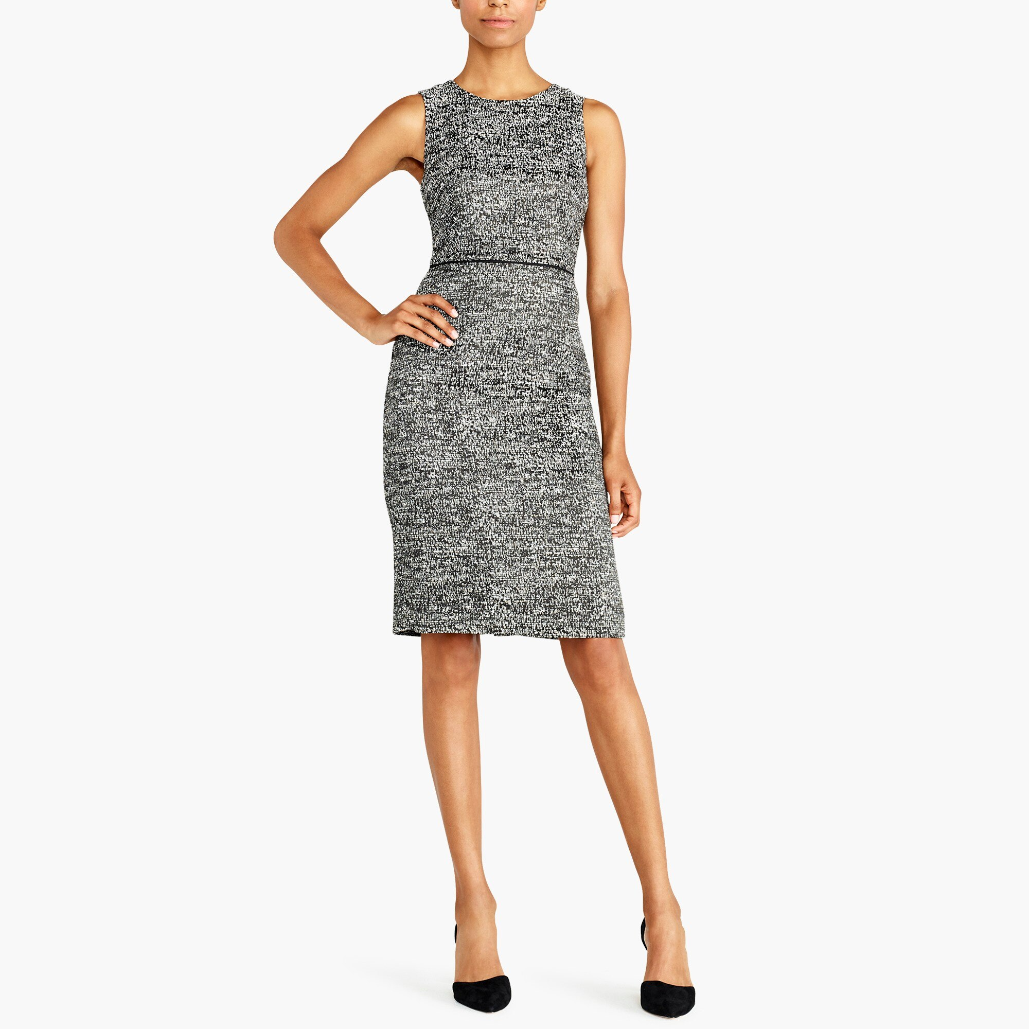 tweed sheath dress : factorywomen wear to work dresses