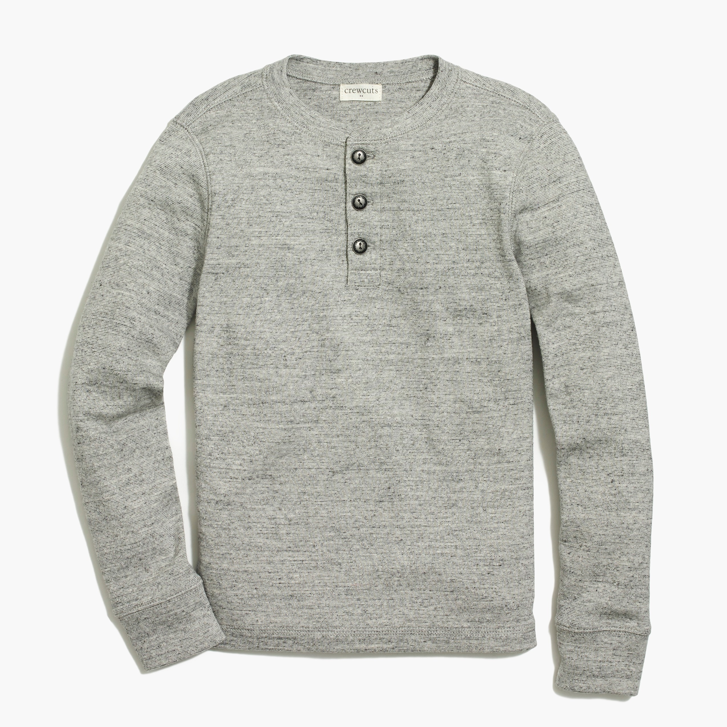 factory boys Boys' long-sleeve twisted-rib henley