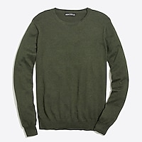 Image 2 for Cotton jersey crewneck sweater