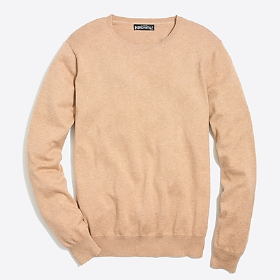 9b60813db8c factory mens Cotton jersey crewneck sweater