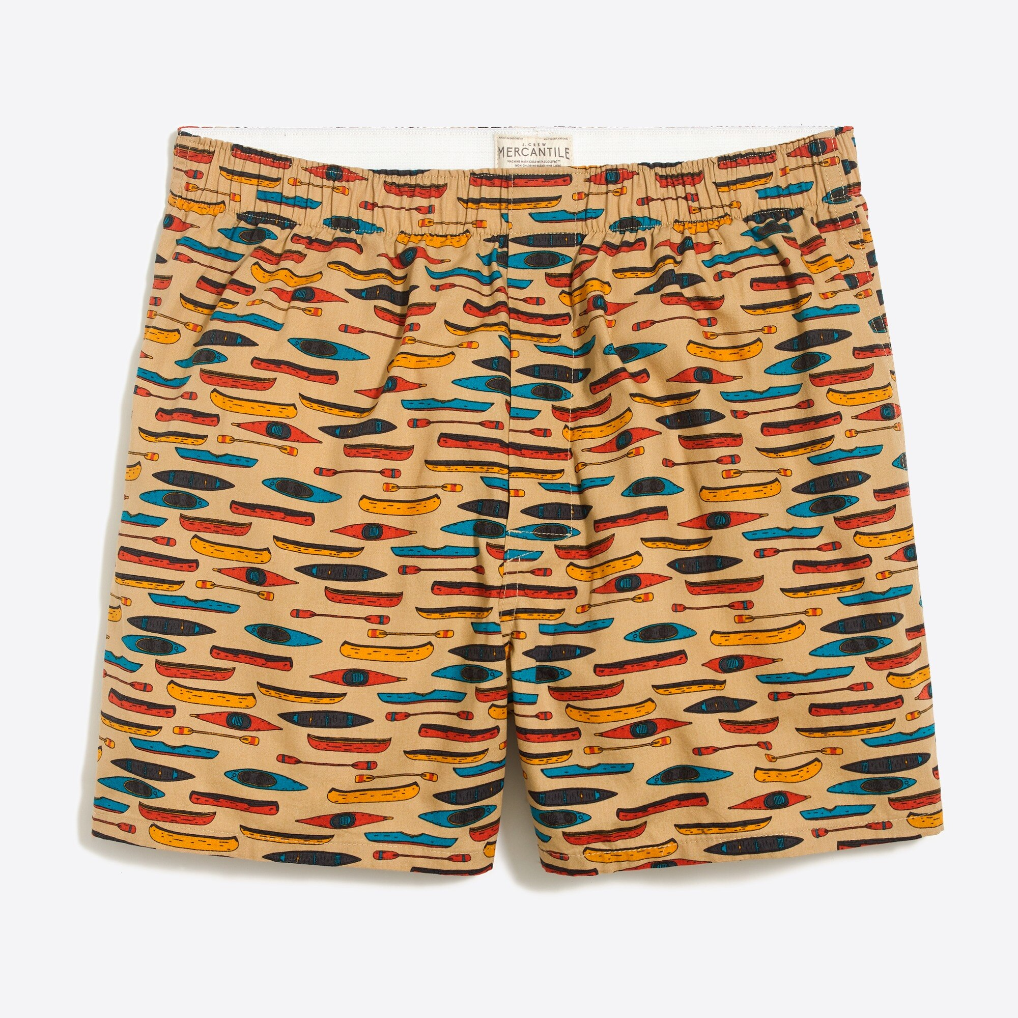factory mens J.Crew Mercantile kayak and canoe boxers