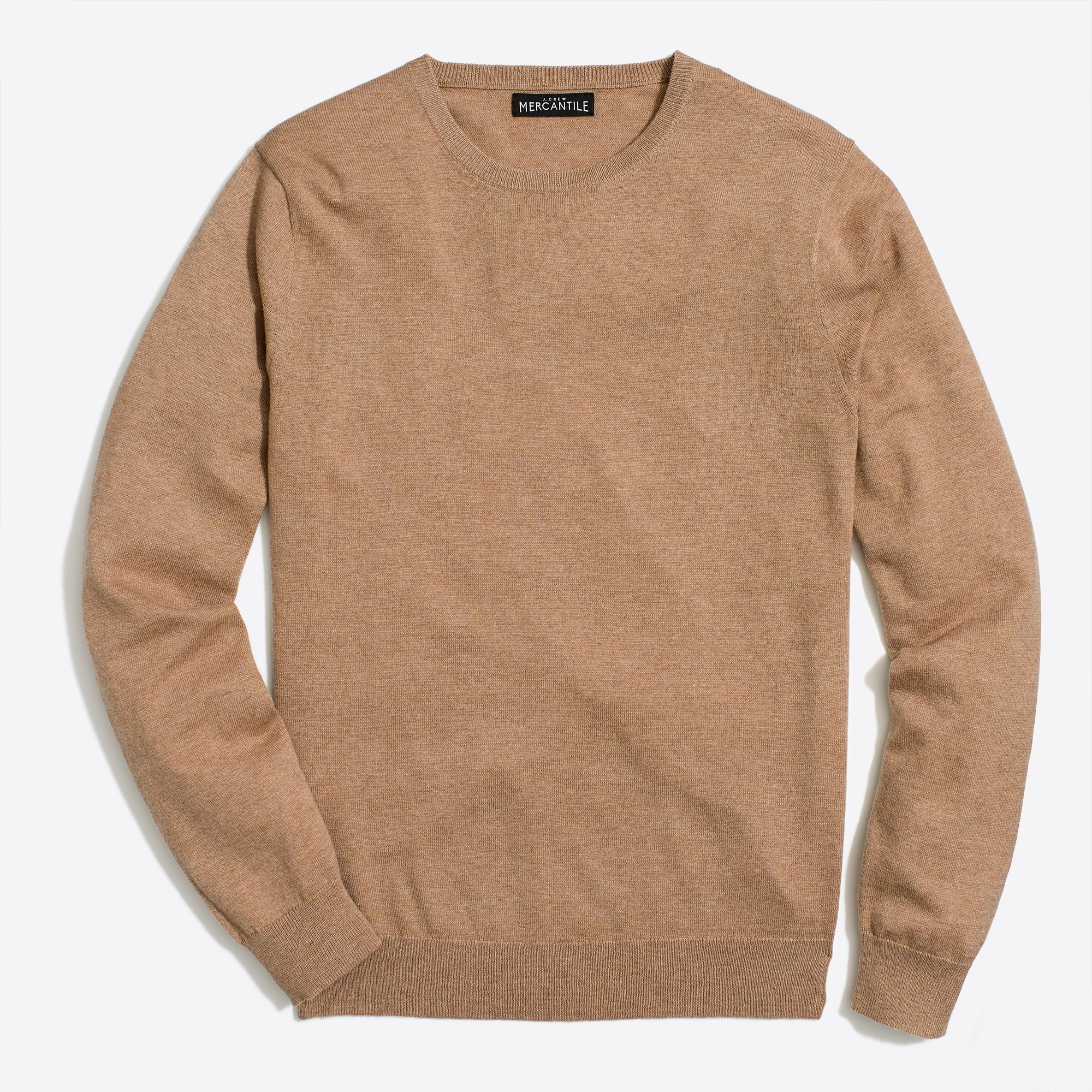 factory mens Crewneck sweater in perfect merino wool blend