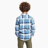 Image 3 for Boys' long-sleeve flannel shirt