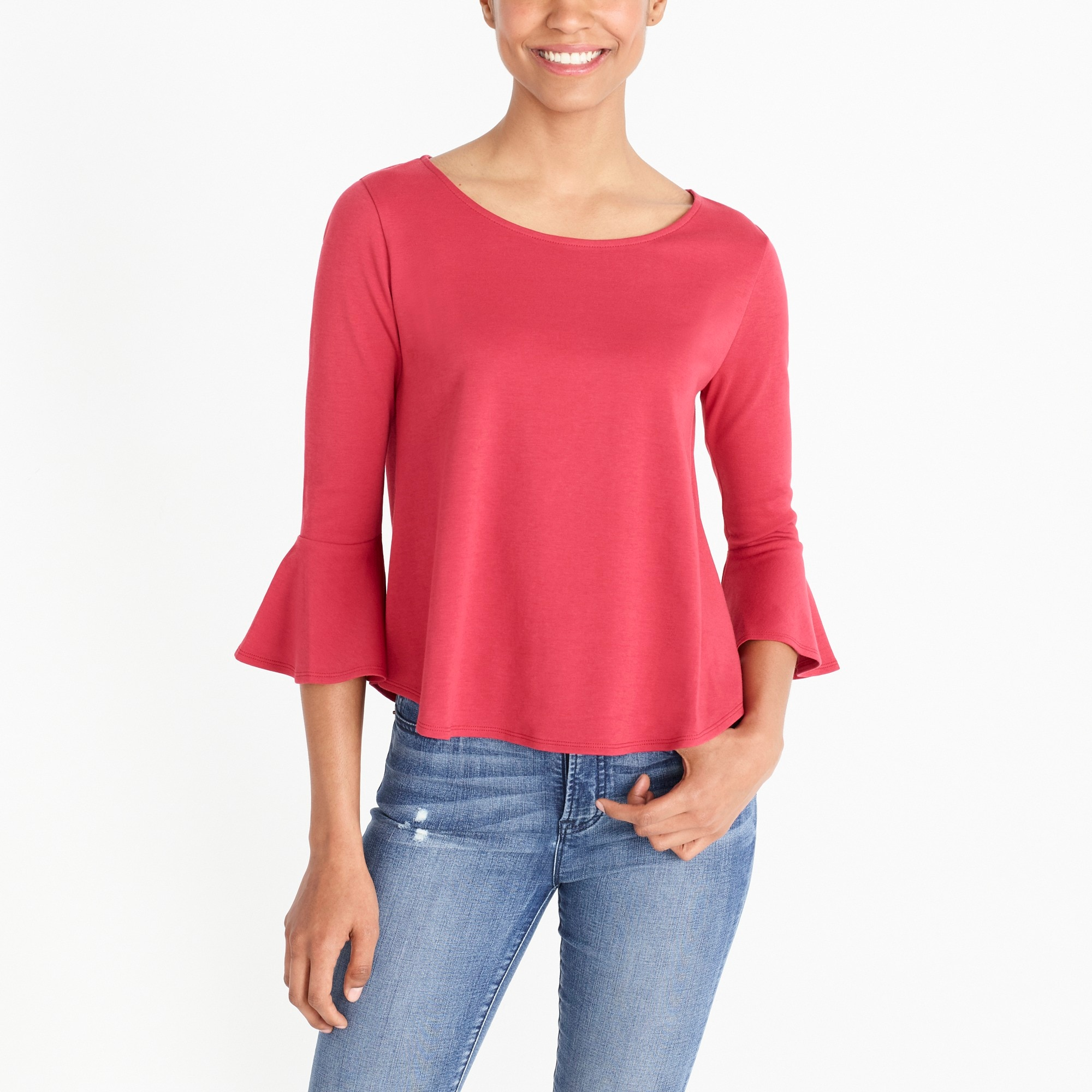 factory womens Bell-sleeve T-shirt
