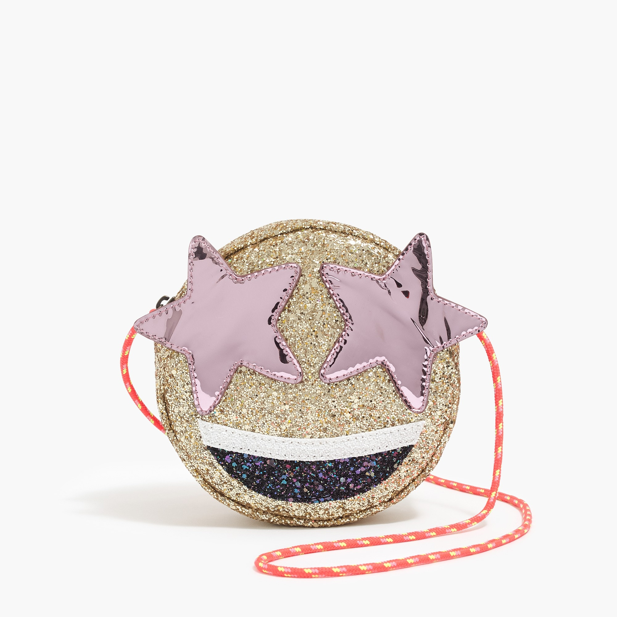 girls' star eyes emoji bag - girls' accessories