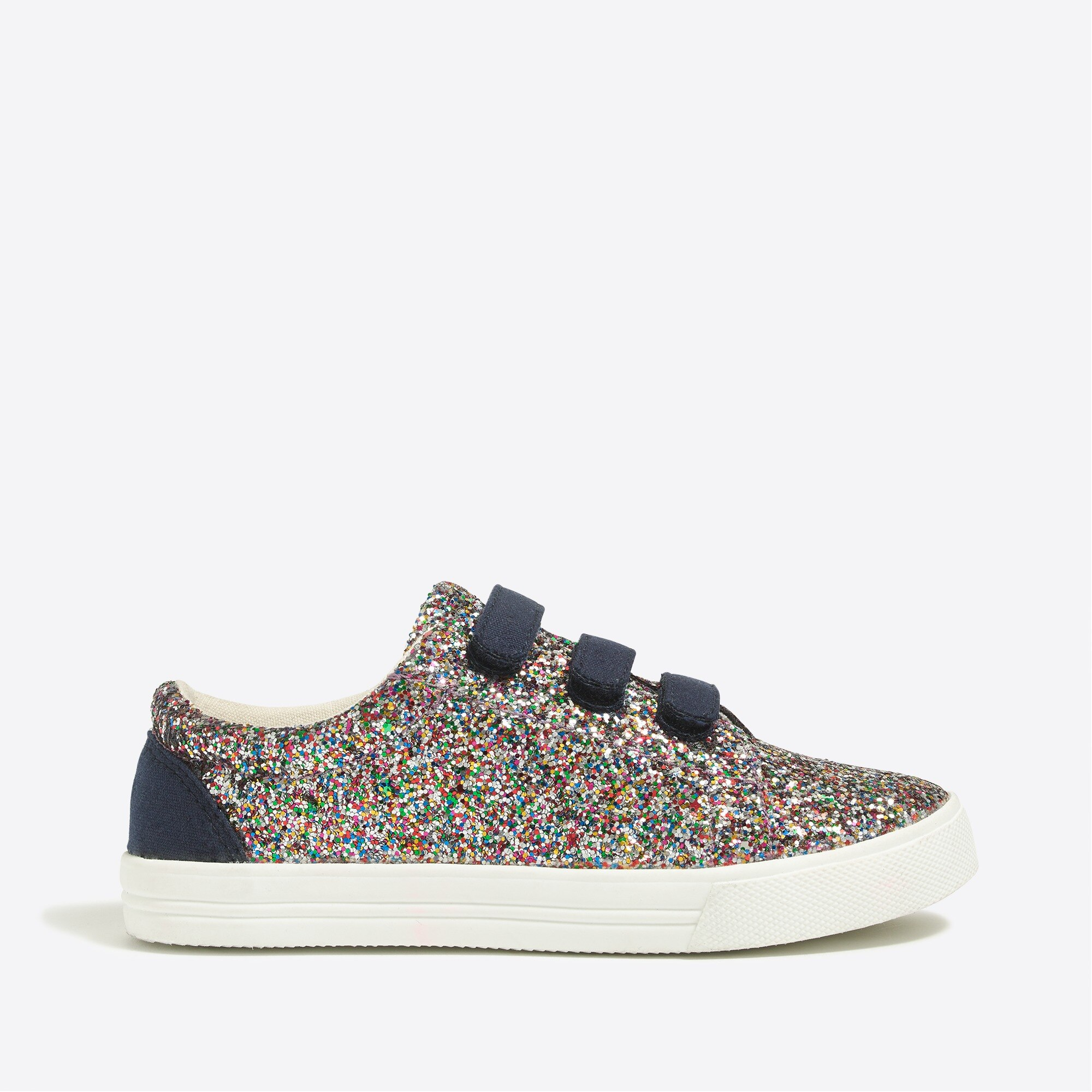Image 3 for Girls' glitter Velcro® sneakers
