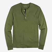 Image 1 for Long-sleeve sunwashed henley