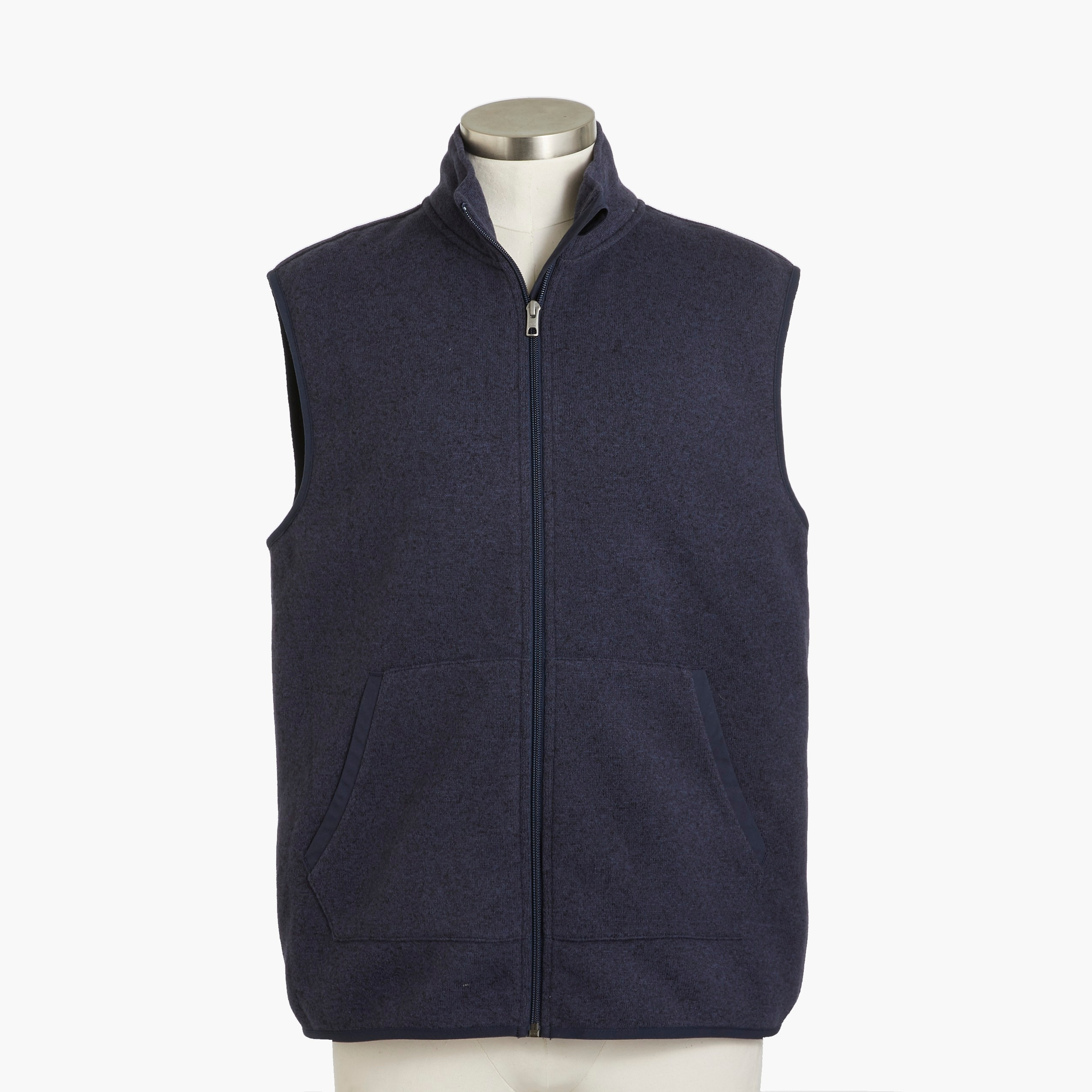 factory mens Sweater fleece vest