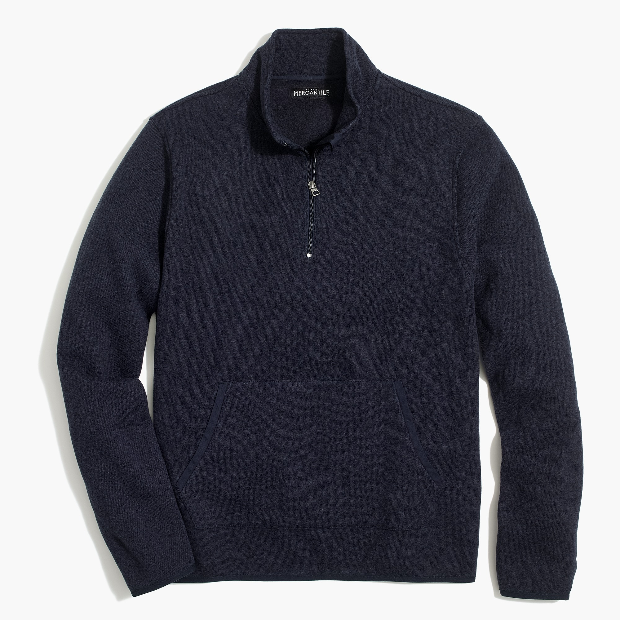 factory mens Sweater fleece half-zip