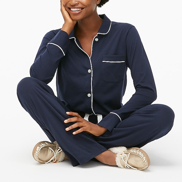 j.crew factory: knit pajama set