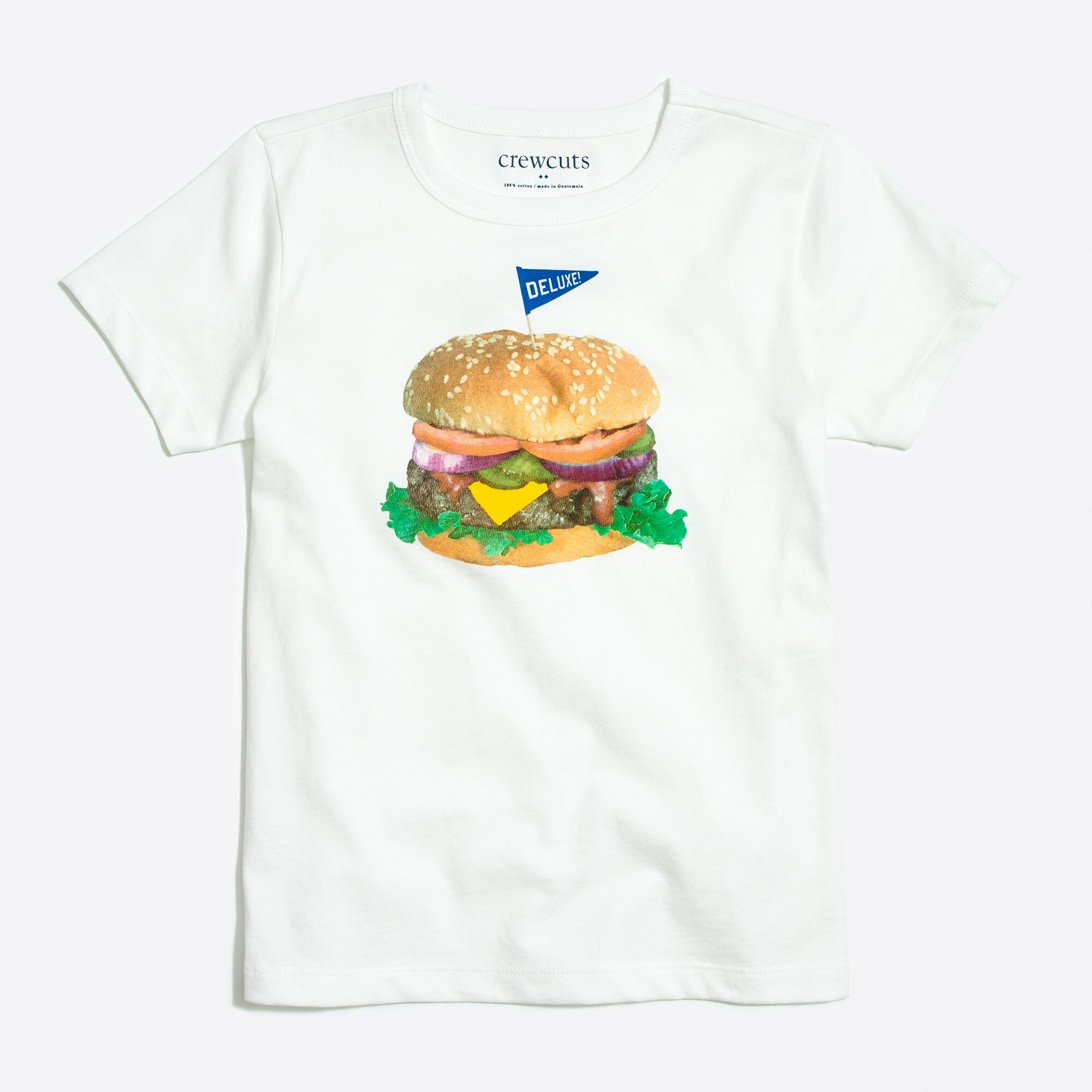 factory boys Boys' burger graphic T-shirt