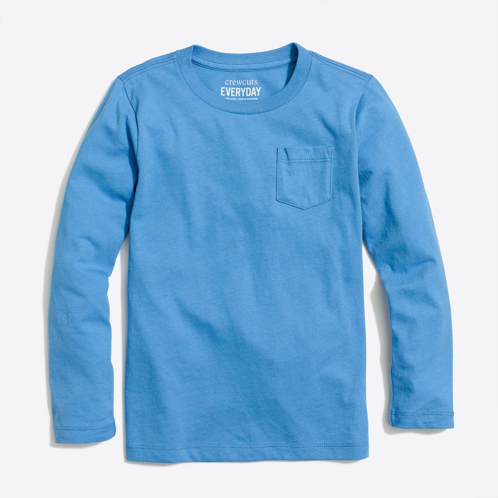 factory boys Boys' long-sleeve jersey pocket T-shirt