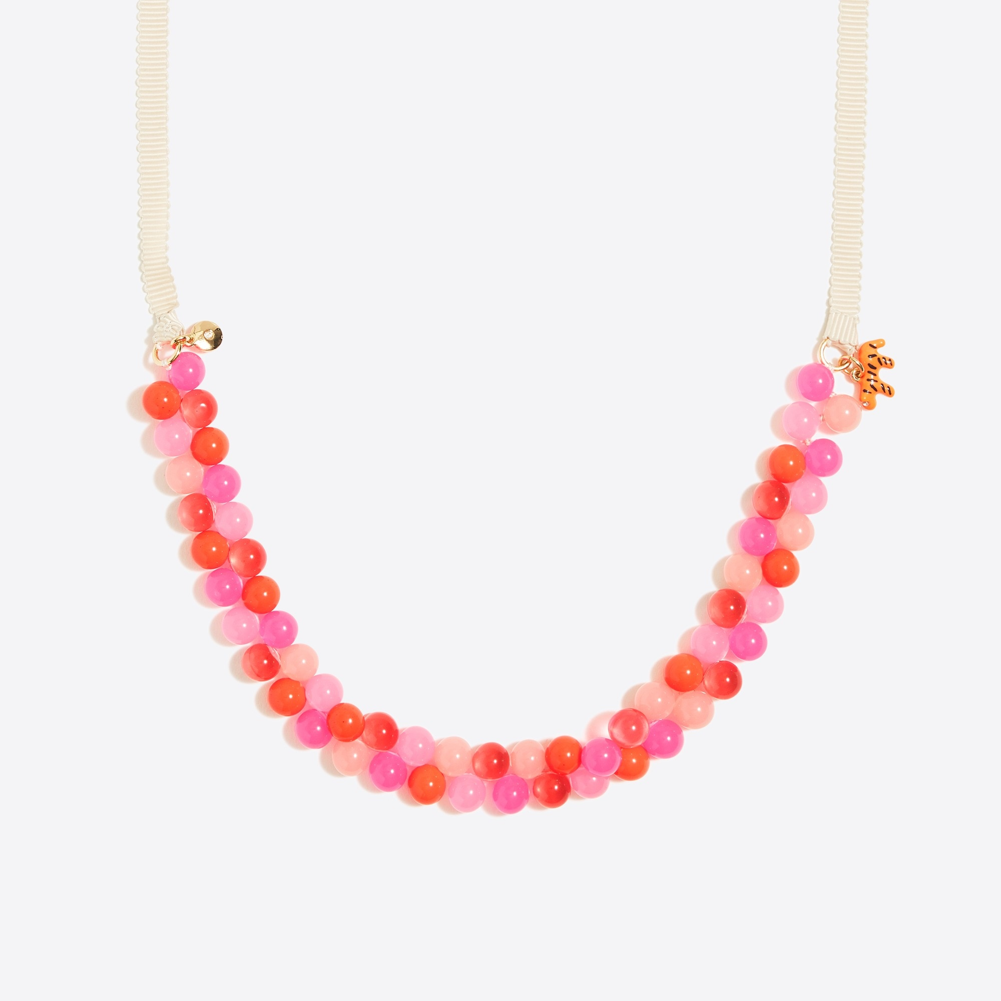 factory girls Girls' two-tone gumball necklace