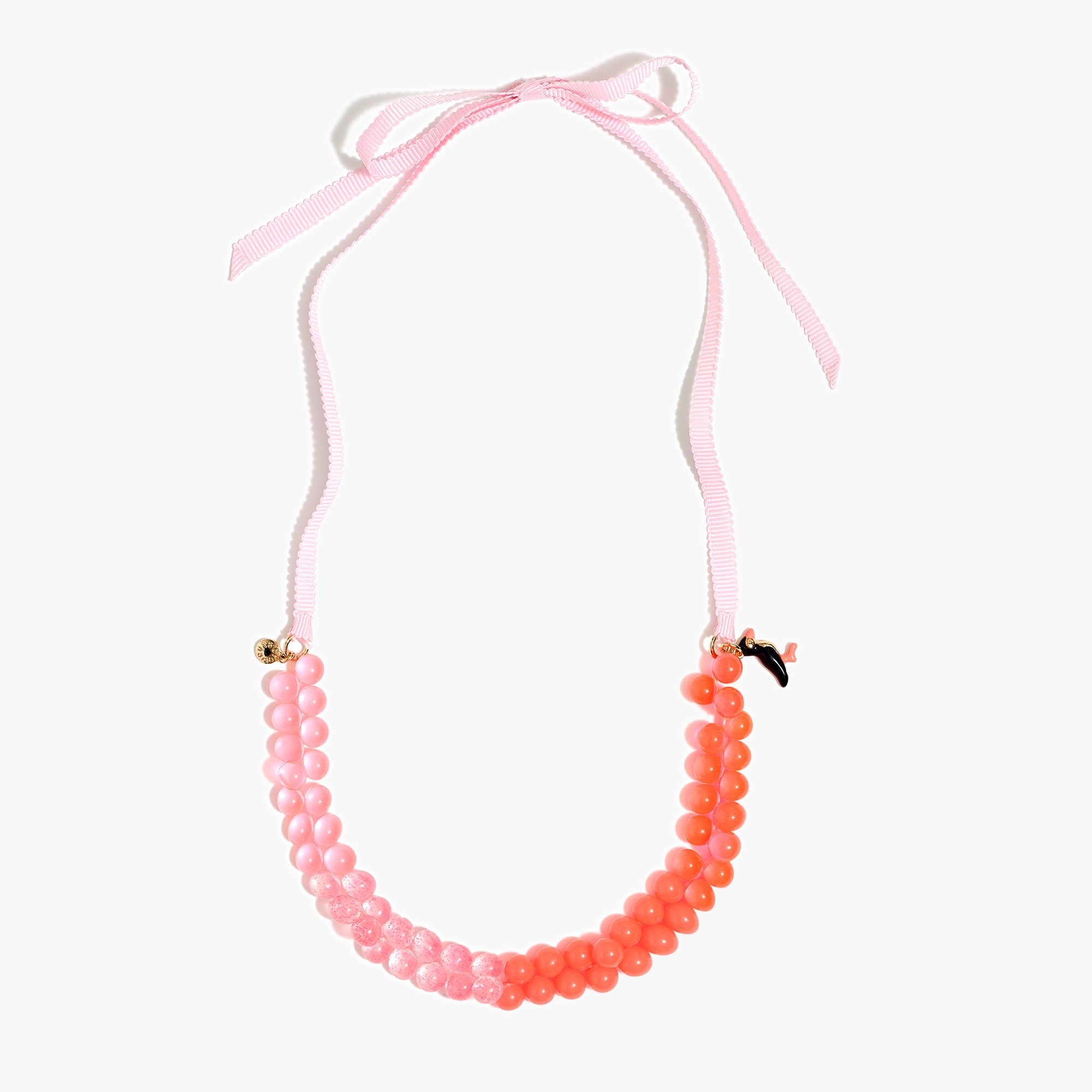 Image 2 for Girls' two-tone gumball necklace
