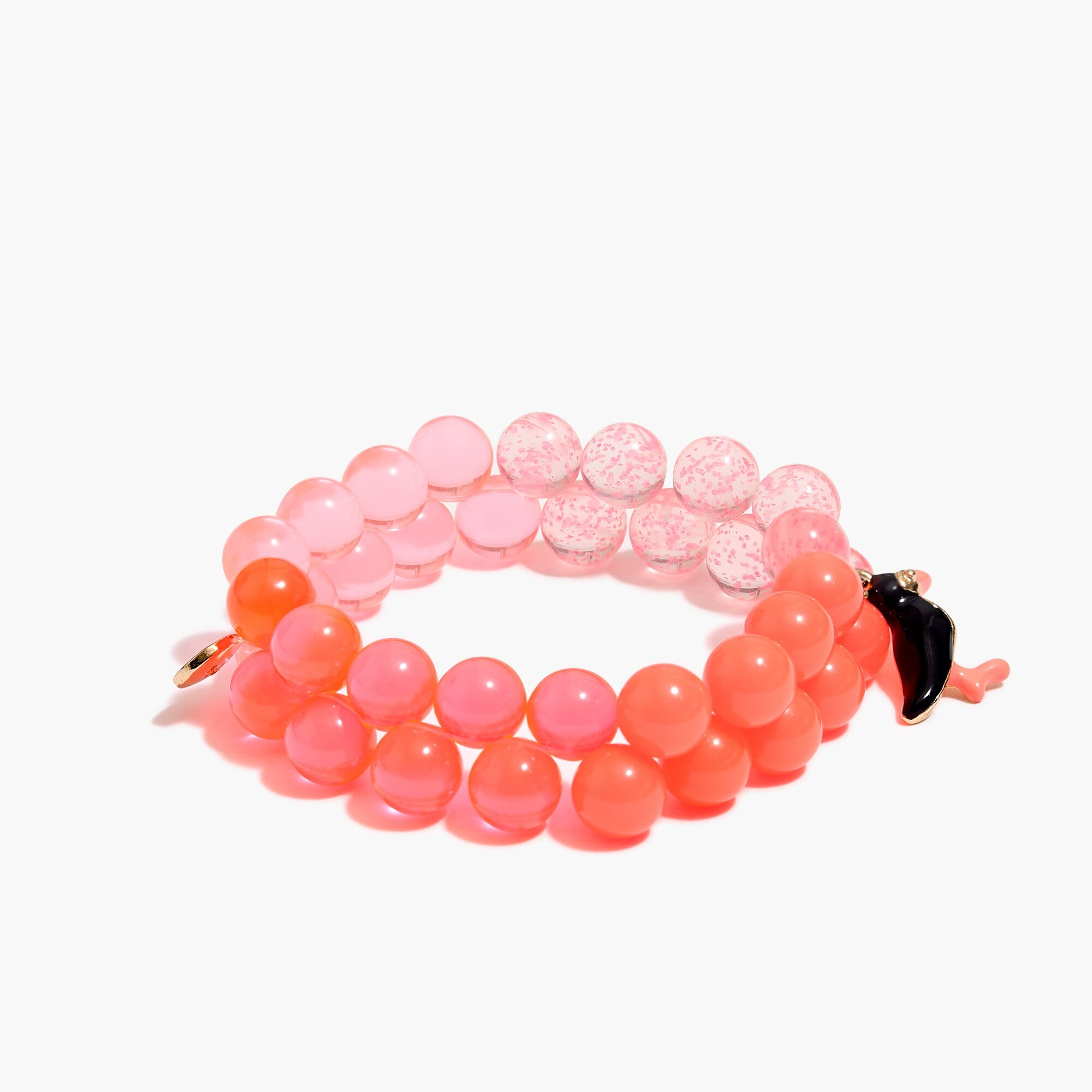 Image 1 for Girls' two-tone gumball bracelet