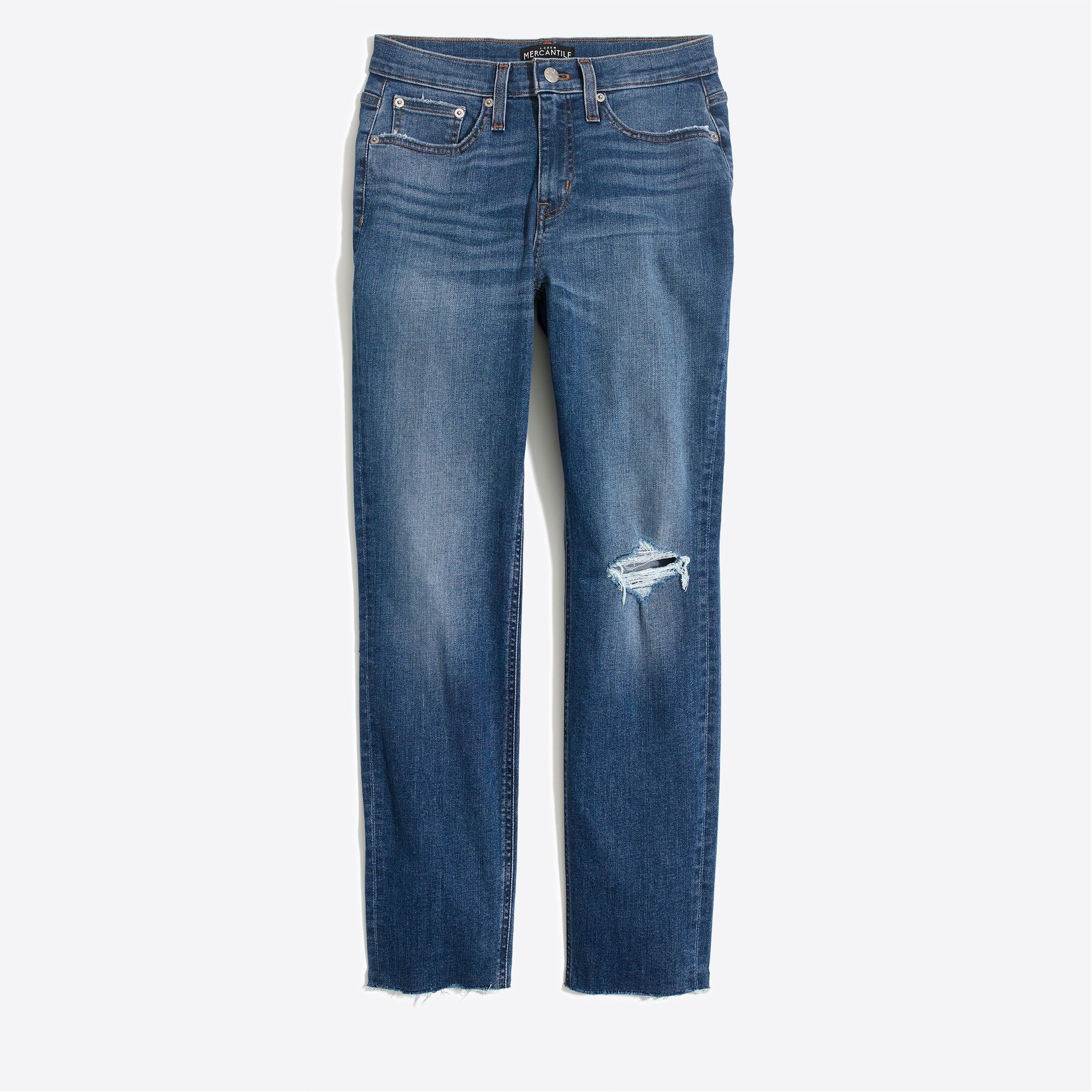 J.Crew Mercantile Slim boyfriend jean in Essexville wash