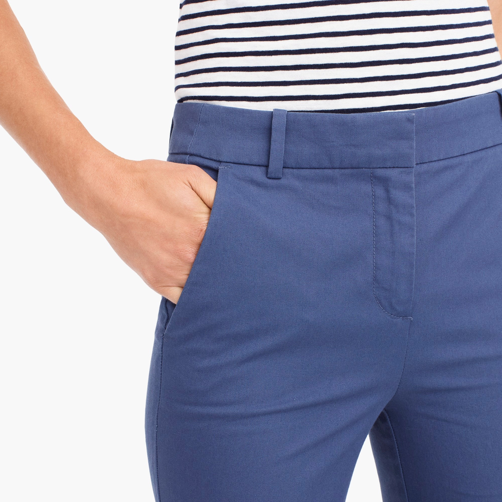 Image 3 for Petite effortless slim crop chino pant
