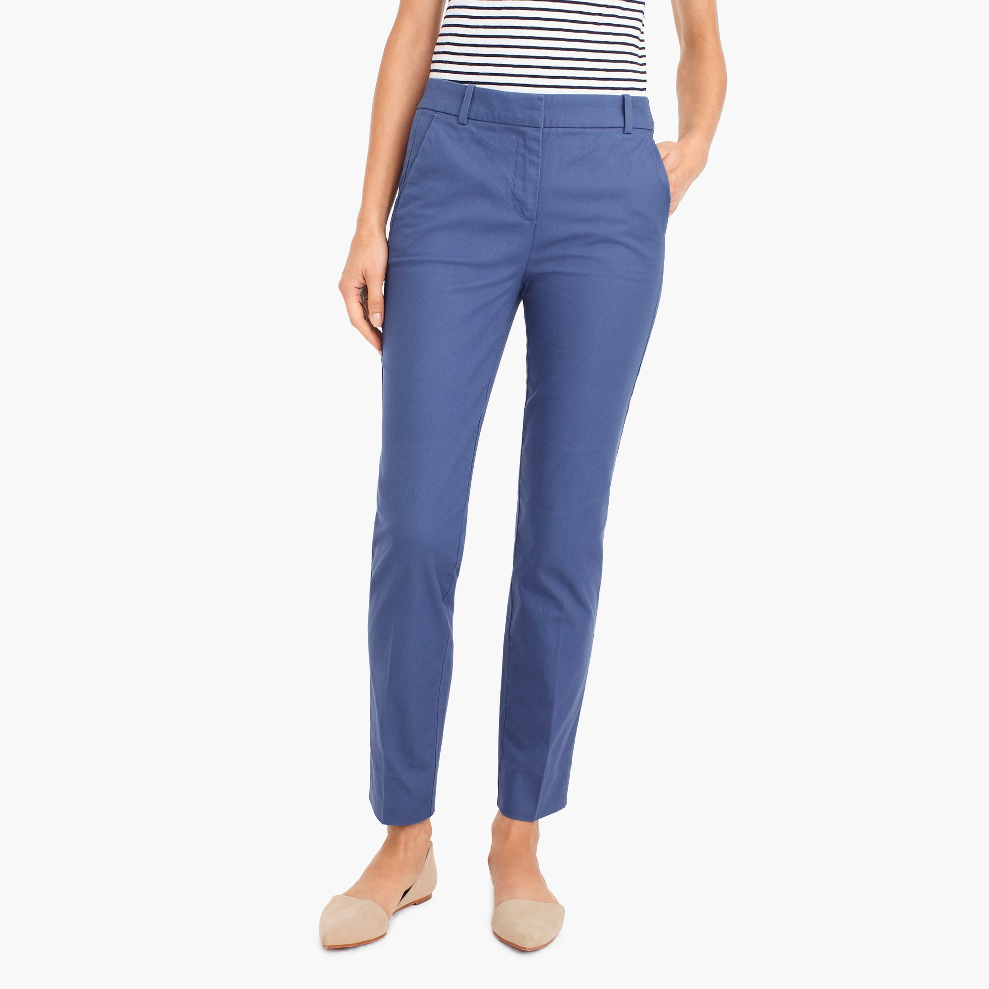 Image 4 for Petite effortless slim crop chino pant