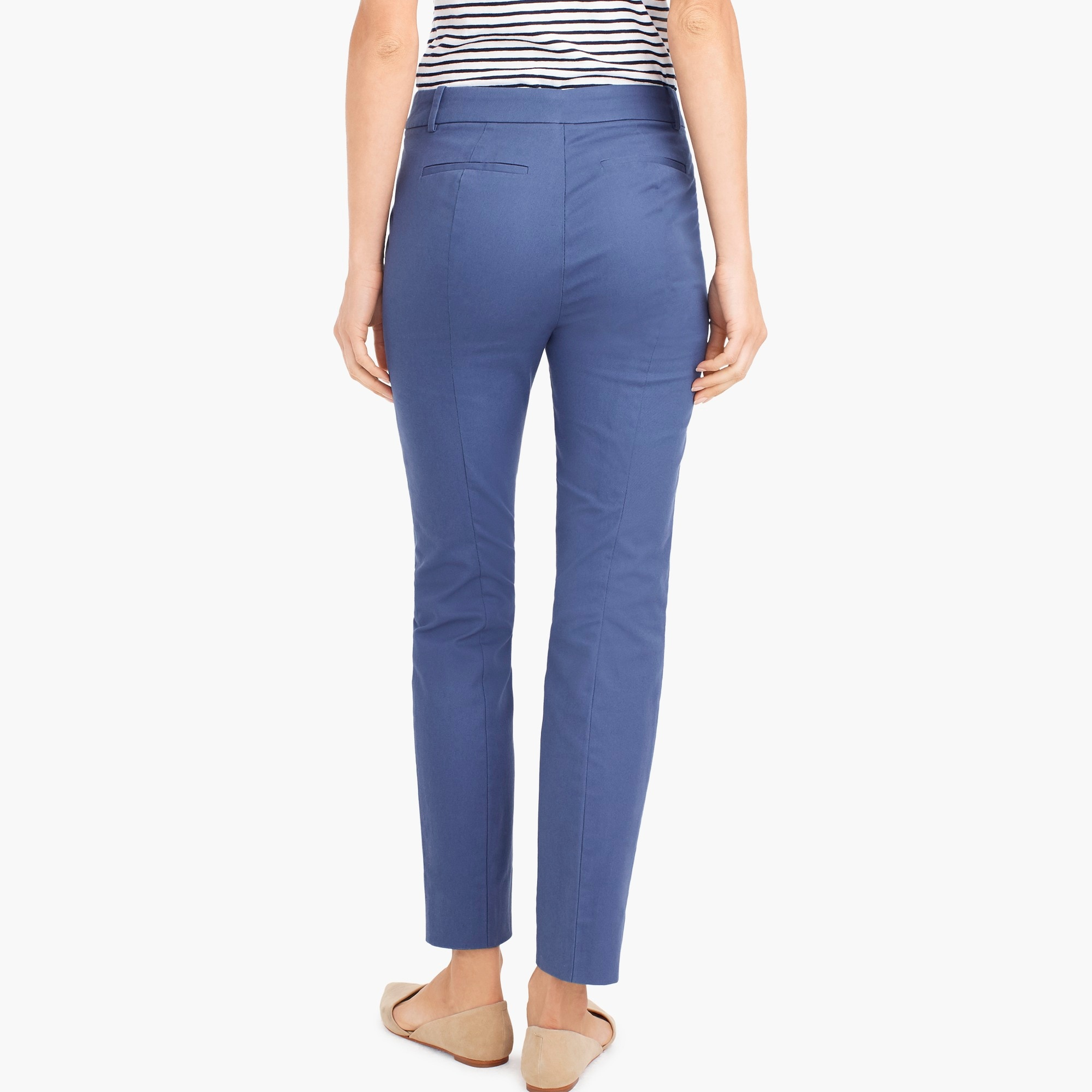 Petite effortless slim crop chino pant