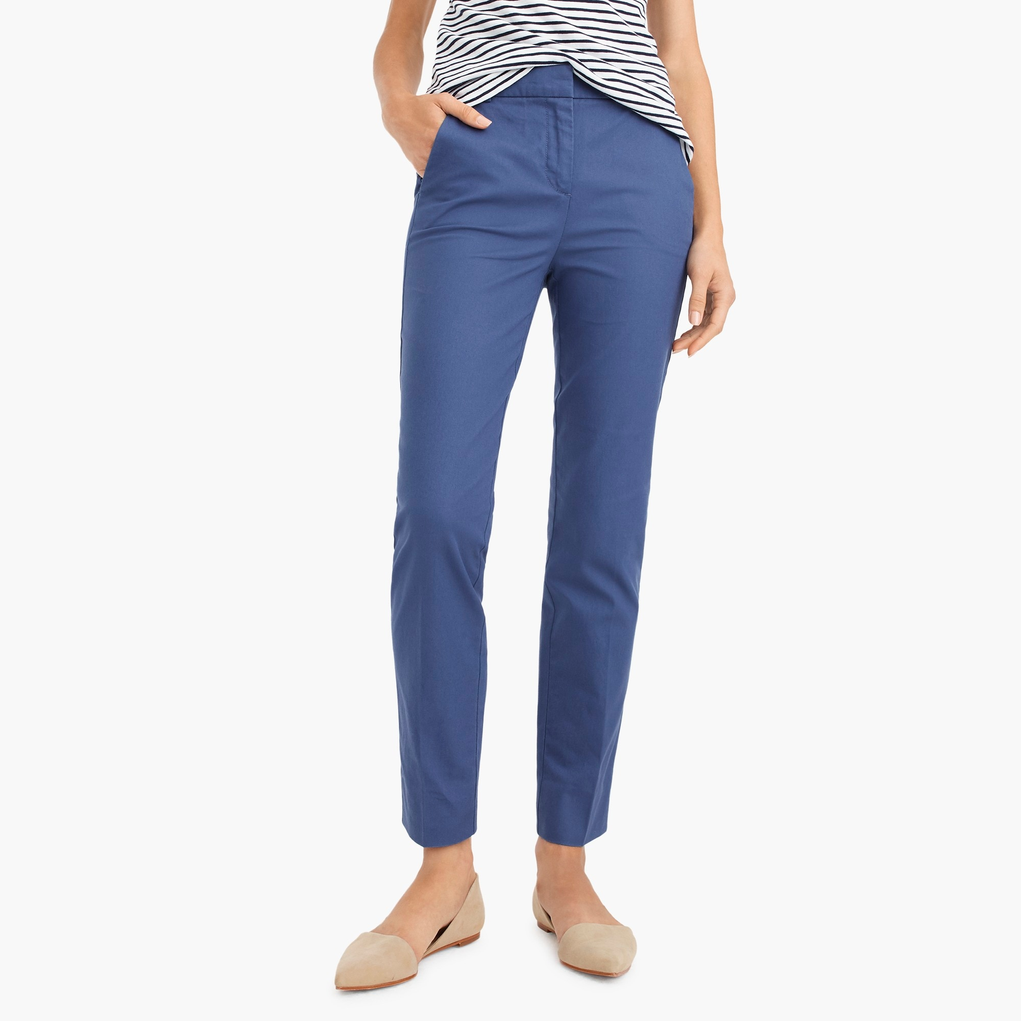 Image 1 for Petite effortless slim crop chino pant